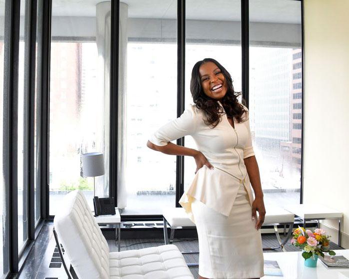 Shelonda Stokes at Downtown Partnership